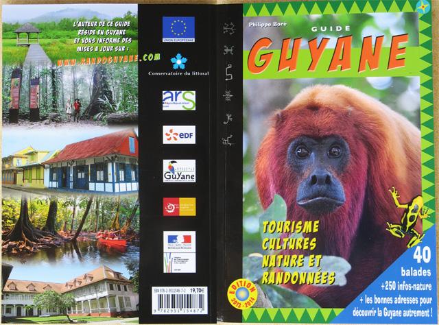 Photographie en couverture arrière (Crique Gabrielle, Guyane)