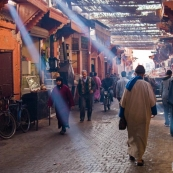 Illumination matinale - Marrakech - Maroc