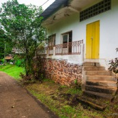 Ouanary dans le village Guyane.