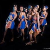 Carnaval de Maripasoula en Guyane. 2017. Costumes. Déguisements. En studio sur la place du bourg.
