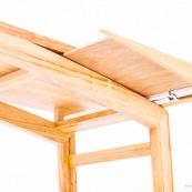 Mobilier design contemporain en bois massif de Guyane. Meuble. Marque DISSI. Console en Manil.