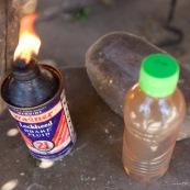 Du pétrole pour s'éclairer