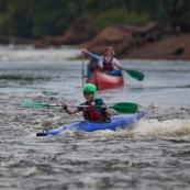 Canoe et kayak en Guyane sur l'Oyapock.
