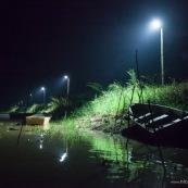 Debarcadere au marais de kaw en Guyane. .
