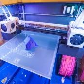 Imprimante 3D. Impression 3D plastique. Double extrusion.