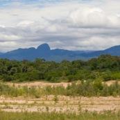 Au loin : parc national AMboro en Bolivie.