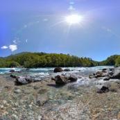 Paysage de patagonie : Rio Frey