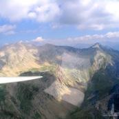 Club de planeur (vol a voile) de Vinon sur Verdon. Vue de la montagne, vol en montagne, vue aerienne.