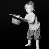 Bebe petite fille enfant. Portrait.