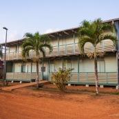 Dispensaire a Saul en Guyane. Village a l'interieur de la Guyane.