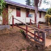 Ecole a Saul en Guyane. Village a l'interieur de la Guyane.