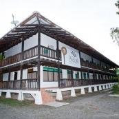 Station scientifique Yasuni en Equateur.