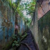 Ile Saint Joseph : bagne - Autoportrait photographe - Iles du Salut