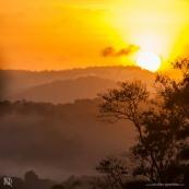 Levé de soleil à Saül - Guyane