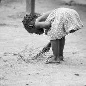 Jeune fille - Maripasoula - Guyane