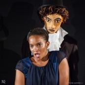 Theatre en Guyane. Compagnie de theatre guyanaise. Spectacle. Deguisement. Compagnie Barjots et Sur les Rives.