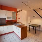 Cuisine dans une maison 1930 apres renovation dans le Nord (Hellemmes lille).