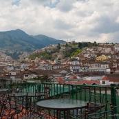 Quito en Equateur.