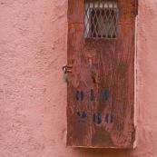 Facade au Maroc.