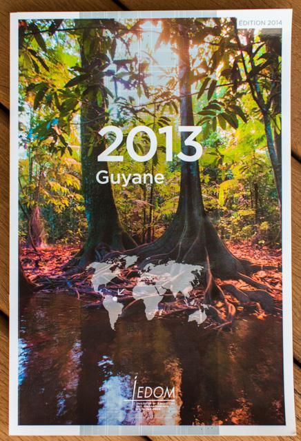 Couverture ouvrage IEDOM Guyane par le photographe