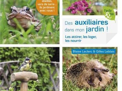 Livre : des auxiliaires dans mon jardin