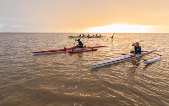 Ocean racing : Va'a et Surfskis à Rémire