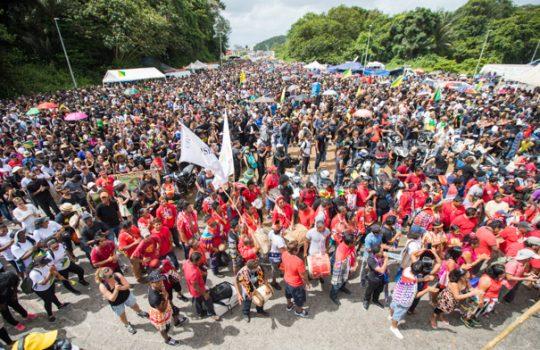 Guyane : rassemblement à Kourou (4 avril 2017)