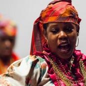 Photographe corporate guyane : chant traditionnel créole
