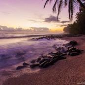 Plage des iles du salut - Photographie Guyane
