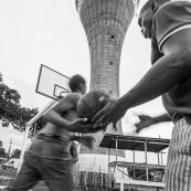 Maripasoula - Basketteurs en Guyane