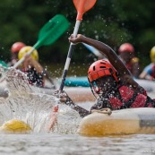 Kayak polo au Rorota